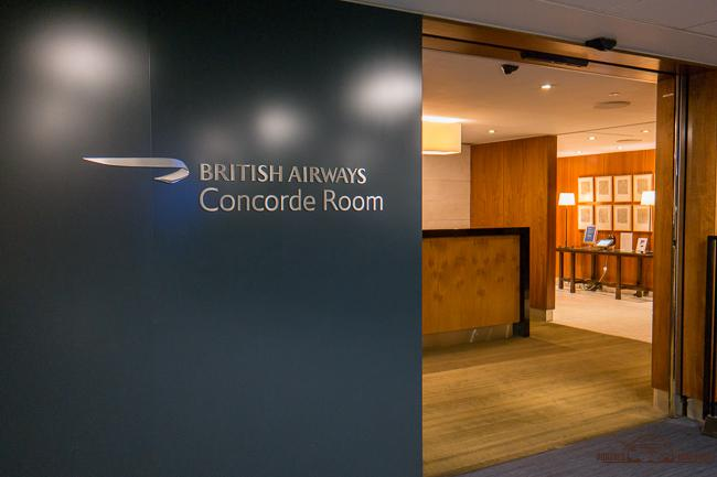 british airways concorde lounge